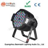 54PCS 3W LEDのアルミニウム同価ライト