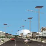160W réverbère solaire de la haute énergie DEL (JINSHANG SOLAIRES)