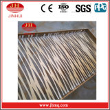 Panneaux de revêtement en aluminium de panneau de nid d'abeilles (Jh131)