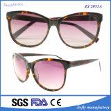 Frame Van uitstekende kwaliteit van de Acetaat van de Zonnebril van de manier het Glanzende Oppoetsende