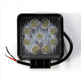 Luz de la alta calidad 27W para de la luz del trabajo del coche LED del rectángulo de los coches del camino SUV