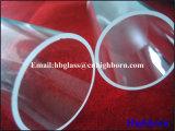 Pipa del vidrio de silicona fundida de la rutina de la resistencia térmica