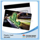 Cartes en plastique de cadeau/cartes magnétiques/cartes d'impression