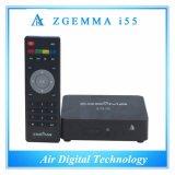 Полный игрок Сталкера промежуточного программного обеспечения OS Enigma2 WiFi Linux C.P.U. Zgemma I55 коробки средств IPTV каналов высокий
