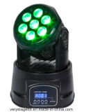 7X10W LED Moving Head Wash Lighting (ml0710-IIRGBWA)