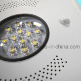 12W 한세트 LED 태양 거리 또는 정원 또는 옥외 빛