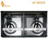 Fornello di gas del bruciatore di vetro Tempered 2 Jp-Gc201