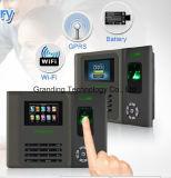 Neuf service de temps d'empreinte digitale avec la batterie (GT-200)