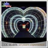Indicatore luminoso dell'interno & esterno dell'arco della decorazione di natale di cerimonia nuziale di illuminazione del LED