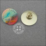 오프셋 인쇄 기장, 스테인리스 접어젖힌 옷깃 Pin (GZHY-YS-016)