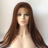""""""" peruca cheia #99j do laço do cabelo chinês reto longo do Virgin 26"""