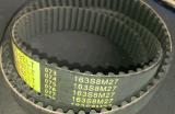 Poly V-Belt à nervures, courroie industrielle. Courroie crantée