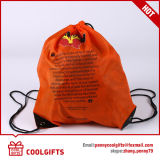La mode pliée réutilisent le sac de cordon en nylon pour extérieur et la course