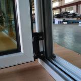 Porta de alumínio do Casement do perfil da ruptura Kz268 térmica, porta do Casement do obturador & inclinação & porta do Casement da volta
