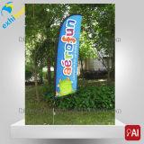 Bandiera nuova brandnew di vendita calda della piuma di disegno della flessione
