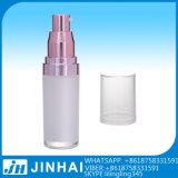 bouteilles cosmétiques en plastique de 15ml 30ml 50ml pour l'empaquetage de lotion
