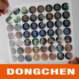 Стикеры Hologram обеспеченностью 3D фабрики Китая дешево подгонянные