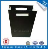 Qualitäts-Weißbuch-Einkaufstasche mit gestempelschnittenem Griff