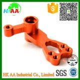 Zoll-CNC maschinell bearbeiteter roter anodisierter Aluminiumlenkarm-Knöchel