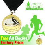 Le métal fait sur commande de qualité à la mode folâtre la médaille de karaté de trophée