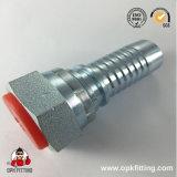 (15611) Embout de durites hydraulique mâle de l'acier inoxydable TNP