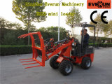 Everun Marca Pequeño Front End cargador Er06 con Italia transmisión hidrostática