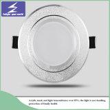 Weiße Decke Downlight des Aluminium-3W 5W 7W 9W 12W 15W LED