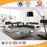 Sofà rotondo moderno del salone con sezionale per mobilia domestica (UL-Z824)