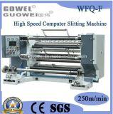 Máquina que raja de alta velocidad del papel de ordenador