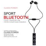 Cuffia avricolare astuta all'ingrosso di sport CSR4.1 Bluetooth di Earbuds del silicone di riduzione di disturbo CVC6.0