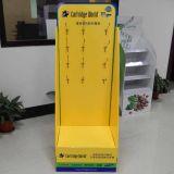 Fornitore della visualizzazione del cartone della Cina, visualizzazione personalizzata del cartone con gli ami per la cartuccia della stampa