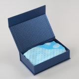 Boîte de conditionnement de sous-vêtements pour hommes en carton design personnalisé (QYZ157)