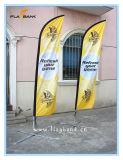 bandierina di alluminio di pubblicità di volo di stampa di 3.4m Digitahi/bandierina della piuma