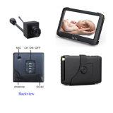 câmera escondida sem fio do CCTV de 5.8g 32channels mini com um monitor sem fio sem fio do bebê de 5inch HD DVR