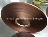 Hot Sale Polyester Insulation Cu / Pet Shielding Strip Tapes Folha de cobre para cabo coaxial