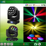International Version 6/7 PCS LED Moving Head Focus Beam Stage Light Customizable for Every Country