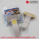 Spazzola di plastica dell'animale domestico della più nuova dell'animale domestico di pulizia manopola dello strumento