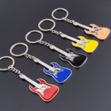 2016 metallo Creative Design Guita Key Ring per Promotion