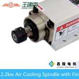 2.2kw Er20 400Hz 24000rpm Square Air Cooling Spindle Withfin