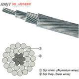 Maestros de alumínio ACSR do núcleo de aço desencapado aéreo/maestro das escumalhas