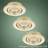 Adjustable en laiton GU10 MR16 Recessed Fixture Downlight de Guangdong Manufacturer