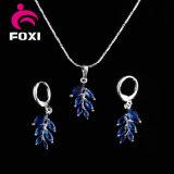 Серьга и ожерелье горячего способа сбывания цветастая