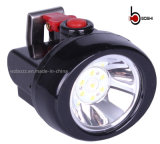 KL2.5LM LED 탄광 무선 재충전용 광업 빛, 광부 램프, Headlamp