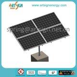 Système de support solaire en acier galvanisé de panneau de picovolte de support de Polonais
