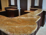 Bancada popular de Gold Granite para Kitchen /Bathroom (YQC-GC1003)