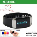新製品のBluetoothの心拍数のモニタのスポーツのスマートな腕時計