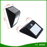 Populaire LEIDEN van de Omheining van de Muur van de Lamp van het Dek van de Tuin van de Sensor PIR ZonneLicht