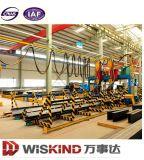 Almacén del acero de la construcción de la industria del certificado de la ISO