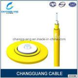 Prix de fibre optique d'intérieur de câble fibre optique d'armature de câble unipolaire de câble par mètre de transmission de Changguang