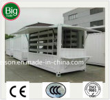 Diversos tipos de casa de protector prefabricada/prefabricada móvil para la venta caliente